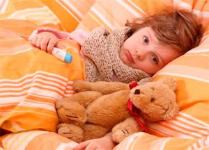 как лечить горло маленькому ребенку