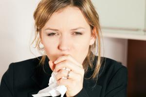 Полоскание перекисью водорода при кашле