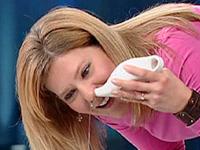промывание носа соленой водой