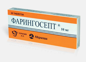 препараты от першения в горле