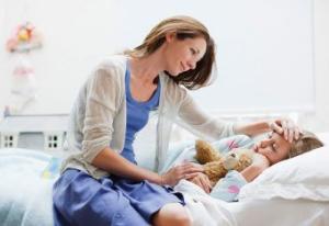 Как ухаживать за ребенком, у которого ложный круп