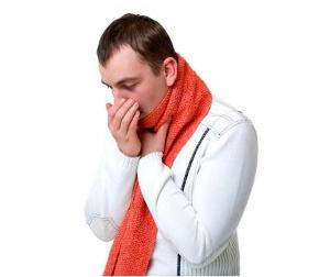 Сухой приступообразный кашель у взрослого