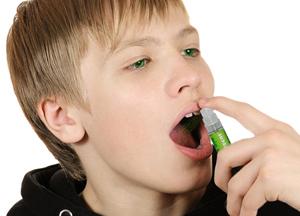 спреи для больного горла для детей