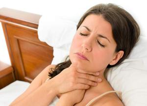 что необходимо делать, если сильно першит в горле
