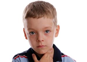 признаки воспаления гланд у детей