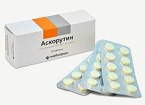 аскорутин при крови из носа при беременности