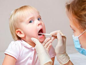 причины детских заболеваний горла