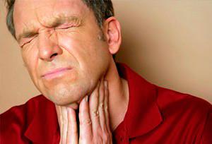 основные симптомы болезней горла