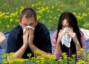 аллергический ринит симптомы фото