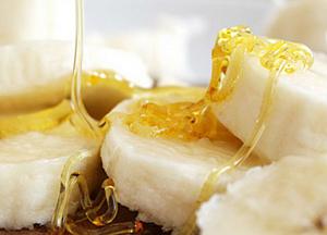 как приготовить банан с медом от кашля