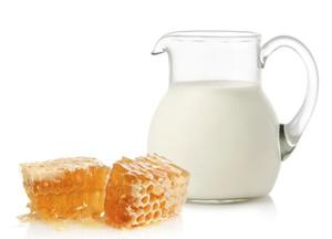 молоко с медом как средство от кашля