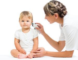 катаральный средний отит у детей
