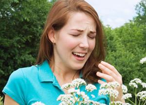 аллергия как причина кашля без температуры
