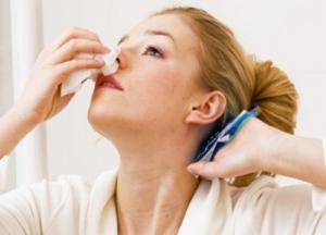 носовое кровотечение причины у взрослых