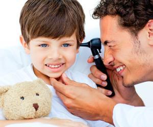 острый катаральный отит среднего уха