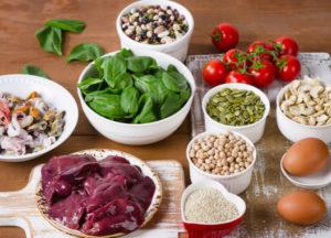 гемоглобин продукты