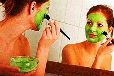 освежаем лицо масками из зелени