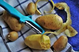 картофель против пигментации на лице