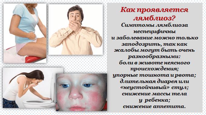 лямблиоз симптомы